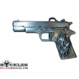 Pistol Gun Colt Belt Buckle