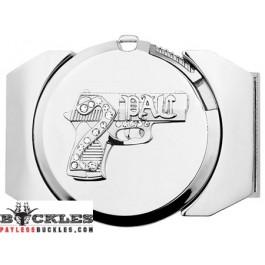 2 Pac Lighter Belt Buckle