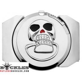 Skull Lighter Belt Buckle
