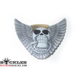 Skull Lighter Belt Buckle