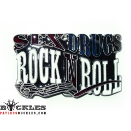 Rock and Roll Belt Buckle