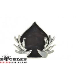 Spade Belt Buckle - Card Belt Buckle