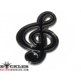 Music Note Belt Buckle