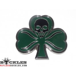irish CLover Leaf Shamrock  Belt Buckle