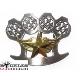 Star Knuckle Belt Buckle