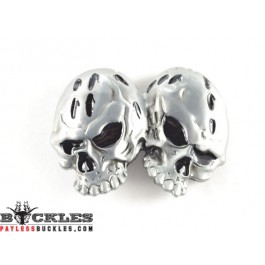 Double Skull belt Buckle