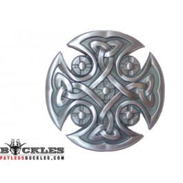 Gothic Celtic Cross Belt Buckle