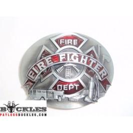 Firefighter Department Belt Buckle