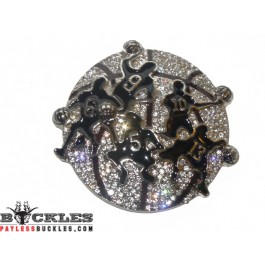 Rhinestone HIP HOP Basketball Belt Buckle