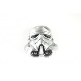 Stormtrooper Helmet Star Wars Belt Buckle in 3D