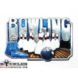 Bowling Belt Buckle