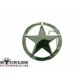 Marshal Sheriff Star Belt Buckle