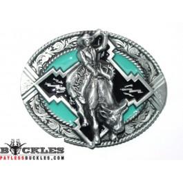 Rodeo Cowboy Belt Buckle
