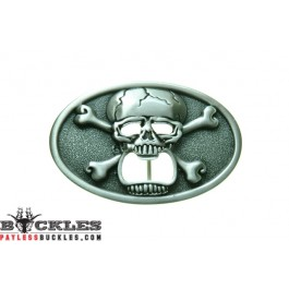 Skull Belt Buckle - Bone Bottle Opener Belt Buckle
