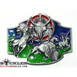 Indian Belt Buckle