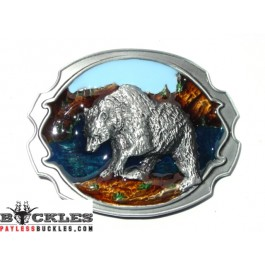 Bear Belt Buckle