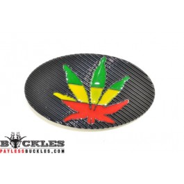 Marijuana Belt Buckle
