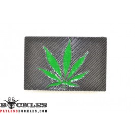 Marijuana Belt Buckle