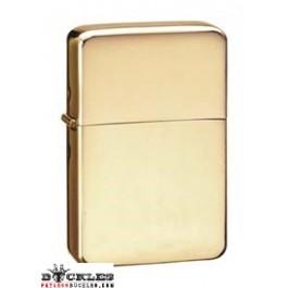 Golden Polished Cigarette Lighter