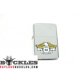 Cigarette Lighters with Eagle Route 66 Logo