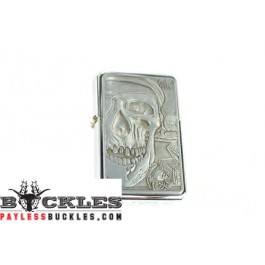 Cigarette Lighters with Skull Logo
