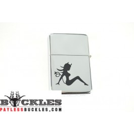 Cigarette Lighters with Devil Mudflap Girl Logo