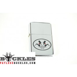 Cigarette Lighters with Punk Girls Lone Star Logo
