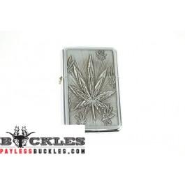 Cigarette Lighters with Marijuana Leaf