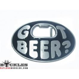 Got Beer Belt Buckle