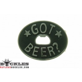 Got Beer Bottle Opener Buckle