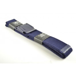 Canvas Military Web Belt Plain Blue