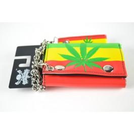 Marijuana Rasta Chain Wallet