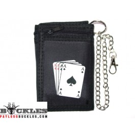 Poker cards Chain Wallet