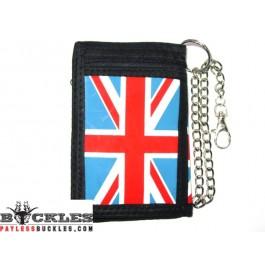 UK British Chain Wallet