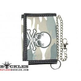 Skull Chain Wallet
