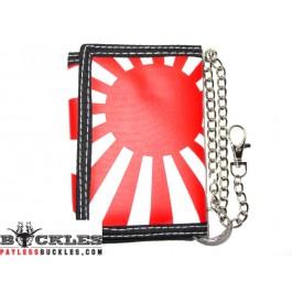 Rising Sun Chain Wallet