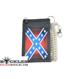 Confederate Chain Wallet