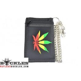 Rasta Marijuana Chain Wallet