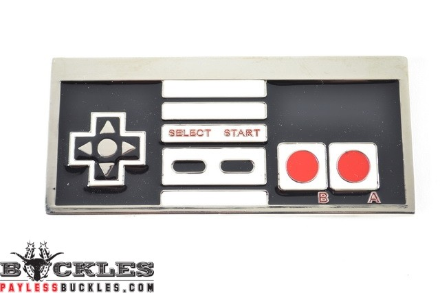 Game Controller Nintendo Belt Buckle