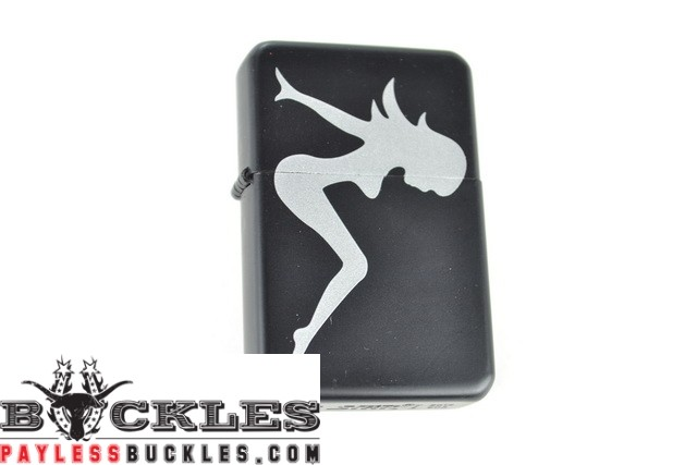 Cigarette Lighters with Mudflap Girl Logo