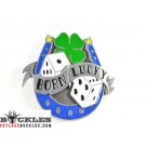 Born Lucky Belt Buckle