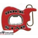Guitar Bottle Opener Belt Buckle