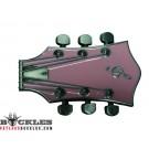 Pink Music Guitar Belt Buckle