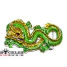 Green Dragon Belt Buckle