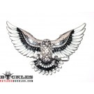 Rhinestone Eagle Belt Buckle