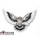 Rhinestone Eagle Belt Buckle