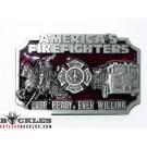 American Firefighter Belt Buckle