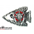 Arrowhead Indian Belt Buckle