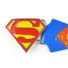 Triangle Superman Belt Buckle