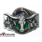 Indian Steer Head Belt Buckle